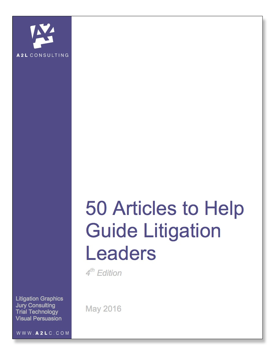 ALS Top  Articles Of All Time  The Litigation Consulting Report